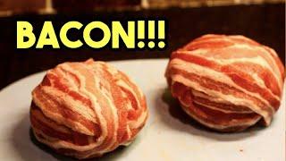 Bacon Wrapped Hamburger Slider Recipe