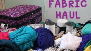Los Angeles Fabric Shopping Haul!