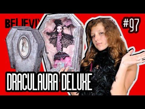 видео: Новые куклы Монстер Хай 2015 делюксовая Дракулаура draculaura deluxe распаковка и обзор monster high