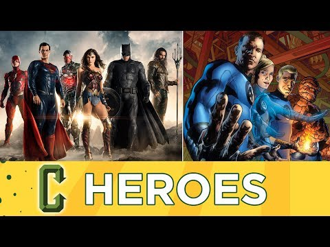 DCEU Expanding To Three Films A Year, Fantastic Four Reboot in the Works - Collider Heroes