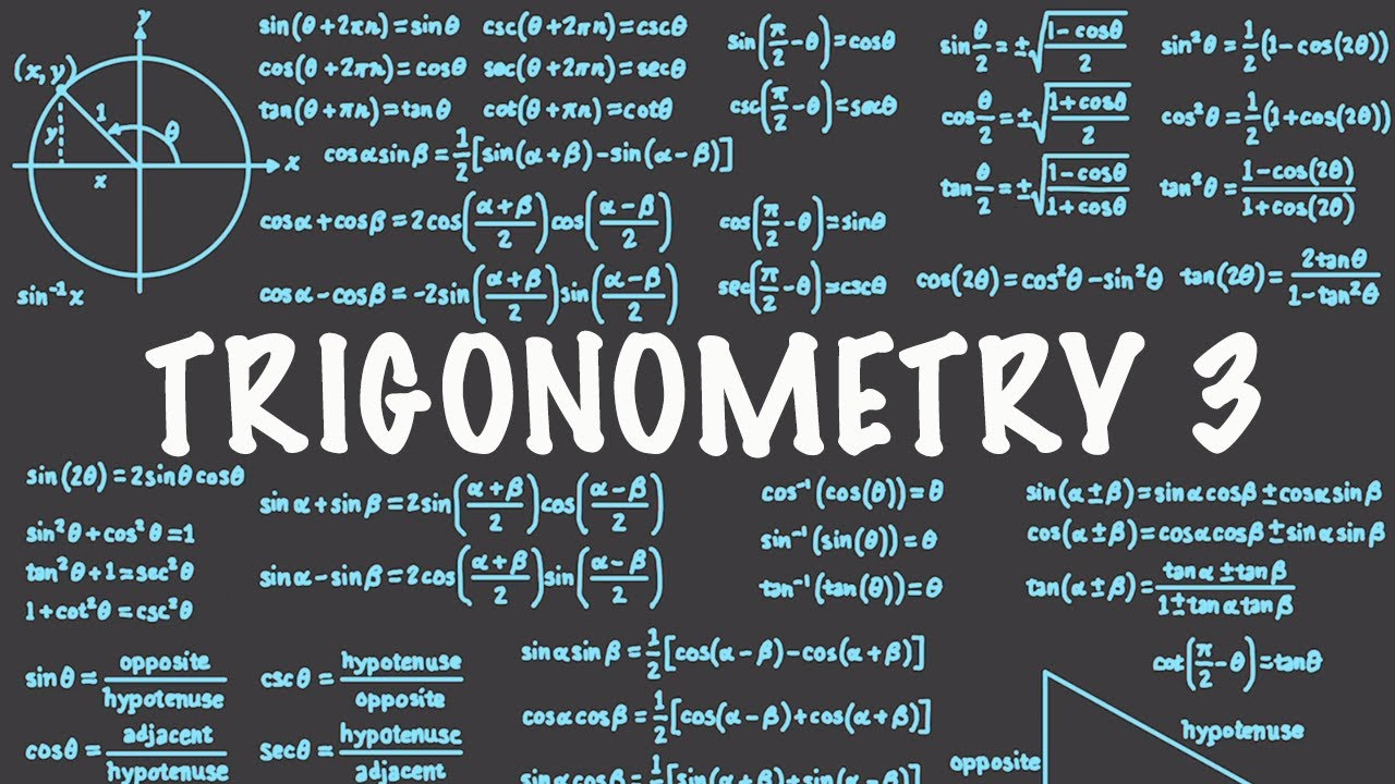 Trigonometry 3 : Unit Circle : Sine Cosine Tricks