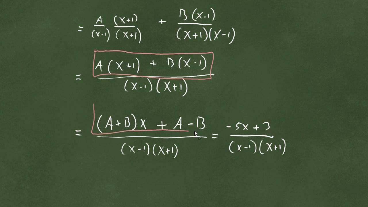 Integrasjon av rasjonale funksjoner - del 1 - delbrøkoppspalting