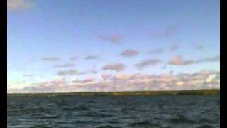 Утро на рыбалке в осенней Карелии. Утеплитель Shelter Loft