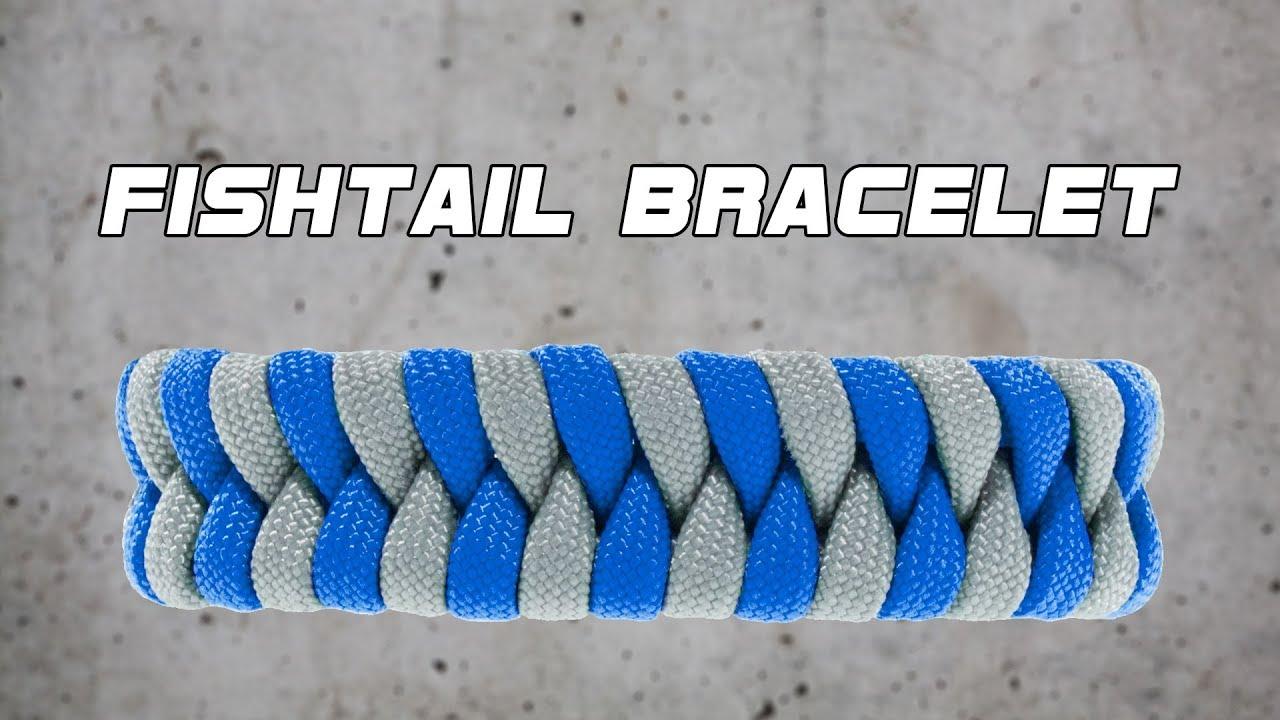 Fishtail Paracord Bracelet Tutorial