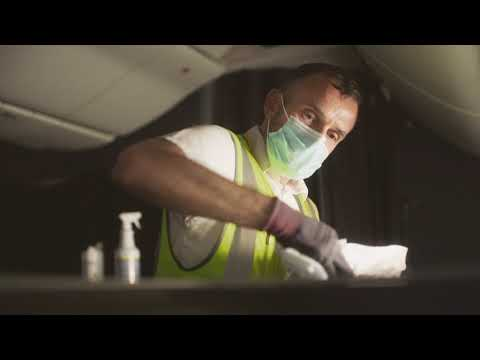 British Airways: Spick & Span - Cleaning and HEPA filters on board