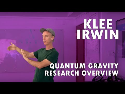 Quantum Gravity Research: an Overview Presented by Klee Irwin.