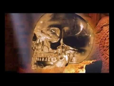 Crystal skull; a work of the aliens