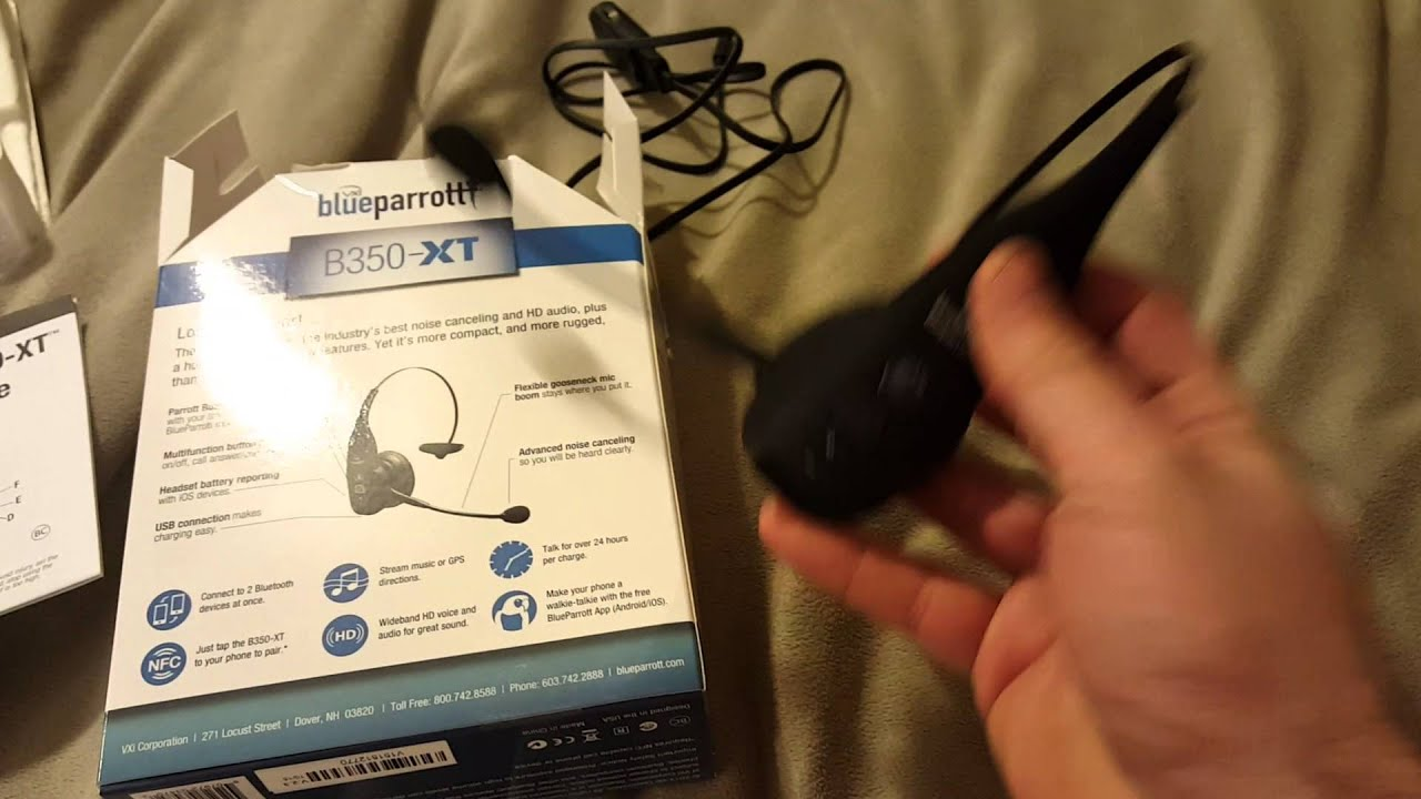 188cd53490a Blueparrot B350-XT Headset Review - YouTube