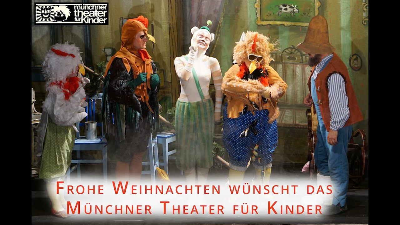 Das Münchner Theater Für Kinder Wünscht Frohe Weihnachten Youtube