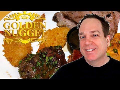 Golden Nugget Buffet Downtown Las Vegas - BBQ NIGHT!