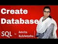 How to Create DataBase in sql (hindi / urdu)
