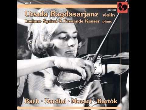 Ursula Bagdasarjanz plays Nardini