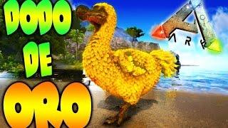 UN DODO DORADO!!! ES GIGANTESCO XD MEGADINOS ARK SURVIVAL EVOLVED MODS - Patty Dragona