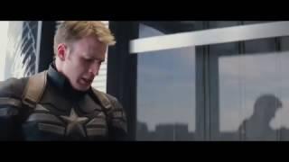 Первый Мститель: Другая война – Сцена в лифте [1080p]