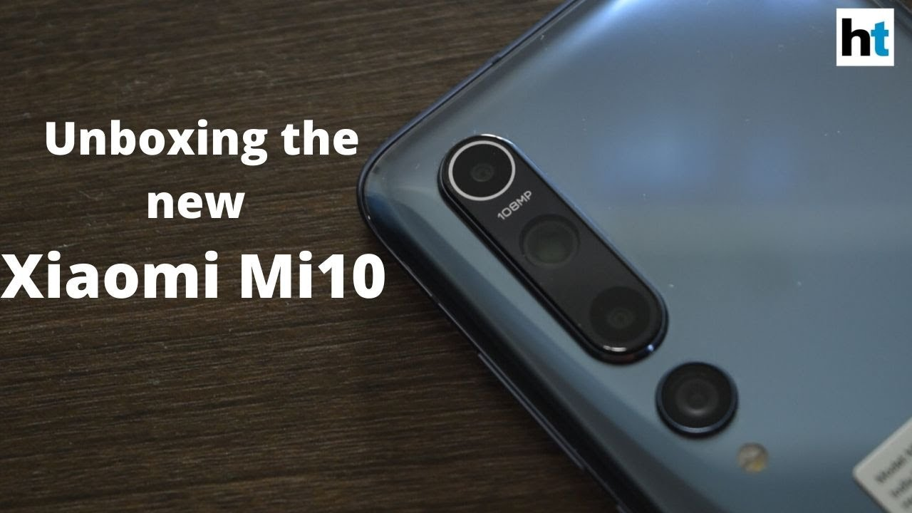 Xiaomi launches its flagship phone 'Mi 10' in India - Hindustan Times