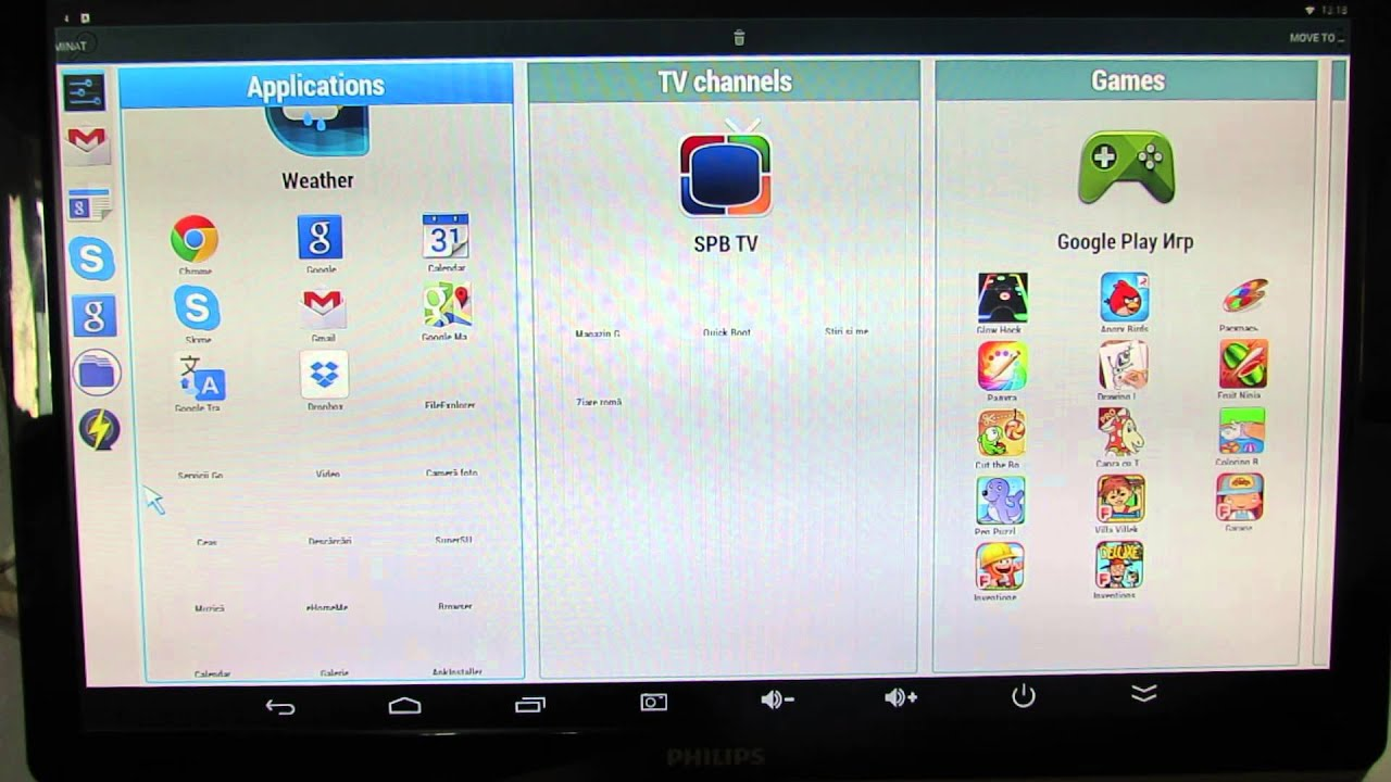 Handy Smart TV Launcher, a really great option for TV Boxes