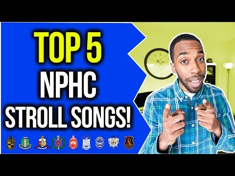 TOP 5 NPHC STROLL SONGS! | NPHC ADVICE | COREY JONES