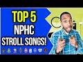 TOP 5 NPHC STROLL SONGS! | NPHC ADVICE | COREY JONES