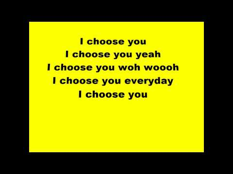 Stan Walker - Choose you (lyrics)