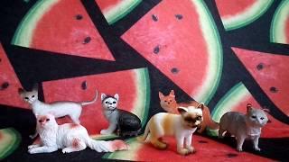 Обзор на набор фигурок кошек 6 шт