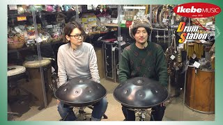 【IKEBE channel】ハンドパン演奏にチャレンジ!#1 Handpan Lesson from SHU