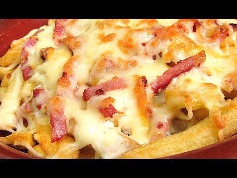 Patatas Fritas estilo Foster´s Hollywood | Bacon & Cheese Fries