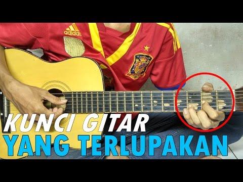 Belajar Kunci Gitar - Yang Terlupakan - Iwan Fals/Noah (Denting Piano)