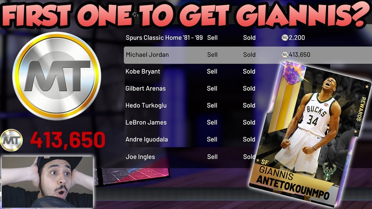 I SOLD EVERY SINGLE CARD I COULD FOR GALAXY OPAL GIANNIS