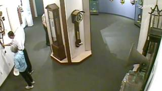 Man Ignores Rules Destroys Priceless Clock At Museum In Seconds
