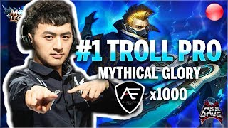 🔴NA No.1 Squad 5 man Mythical Glory Action | Mobile Legends
