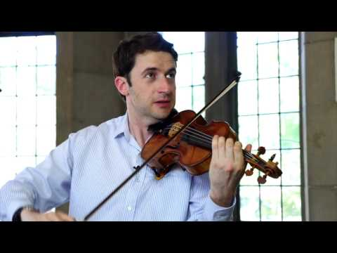 Noah Bendix-Balgley talks about upcoming debut with Apollo's Fire - Beethoven Violin Concerto