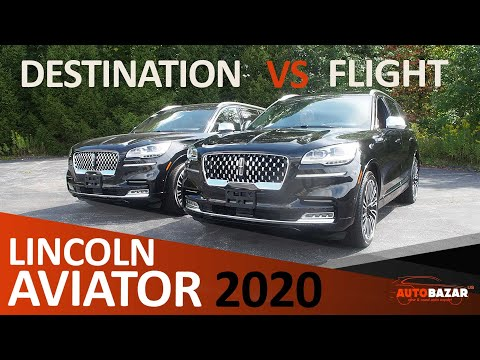 Сравнение тем  Lincoln Aviator 2020 Black Label: Destination Vs. Flight | Интерьер  Линкольн Авиатор