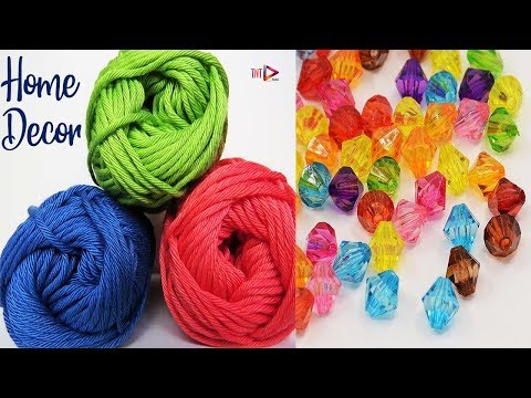 Woolen Miniature Showpiece | DIY Wool Small Tree Showpiece