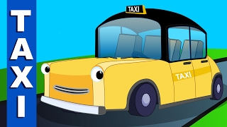 taxi song | vehicle songs and rhymes for kids...