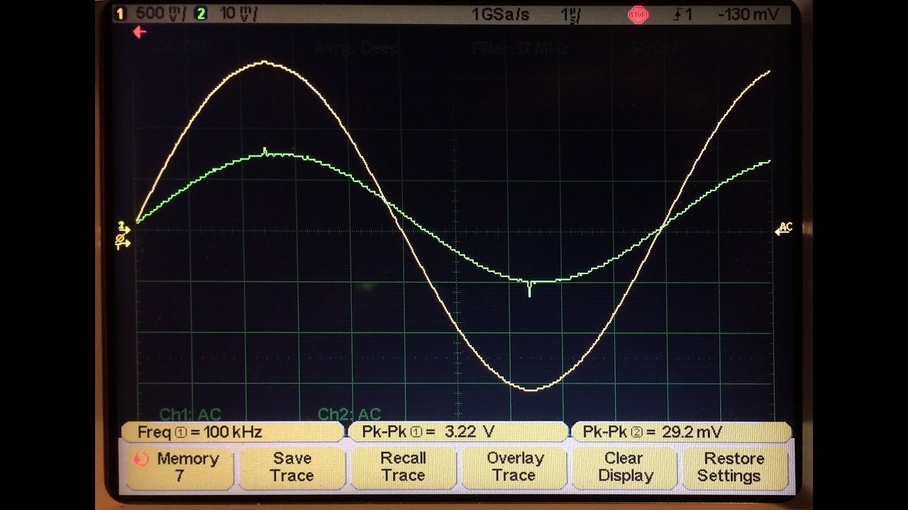 Capacitor ESR Measurement with Oscilloscope & Function generator - ENGLISH  VERSION