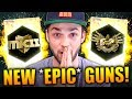 Opening Brand NEW *EPIC* GUNS! - (NEVER done this before...)