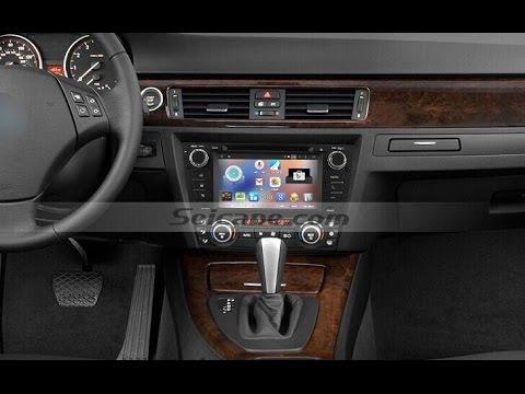 Capacitive Screen 2005 2006 2007 Bmw 3 Series E90 E91 E92 Sat Nav Autoradio Support Bluetooth