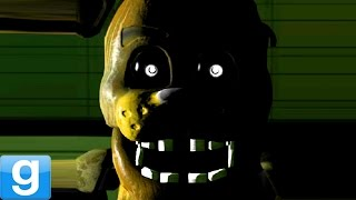SCARIEST GAMEMODE EVER!! - Gmod Five Nights At Freddy's Map (Garry's Mod)