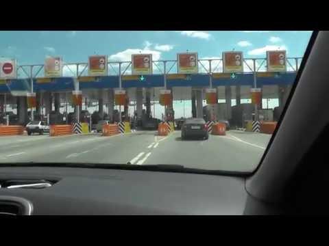 Москва - Туапсе. Запись всей трассы М4 на регистратор