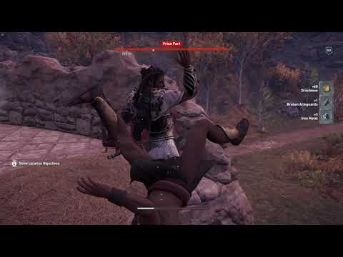 Assassin's Creed Odyssey | Vrisa Fort - LESBOS | Nightmare Difficulty