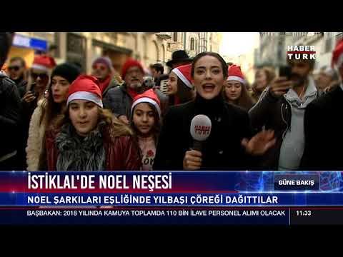İstiklal'de Noel Neşesi