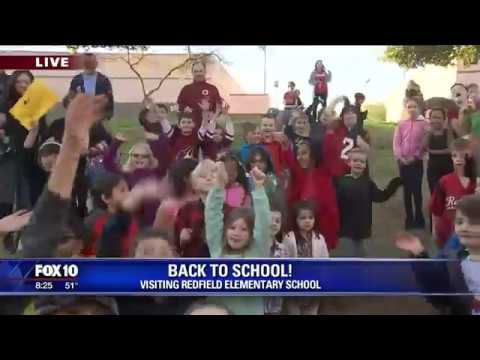 Back to school: Redfield Elementary School Part 1