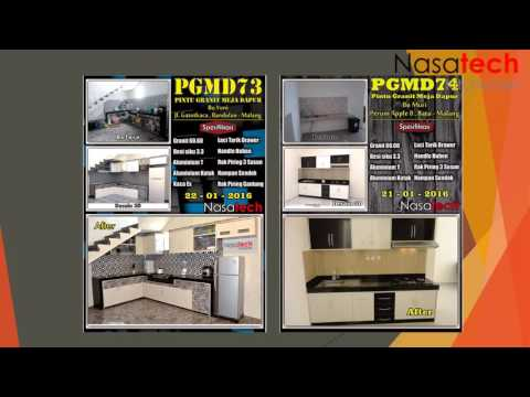 Full download kitchen set kediri jual kitchen set for Kitchen set malang
