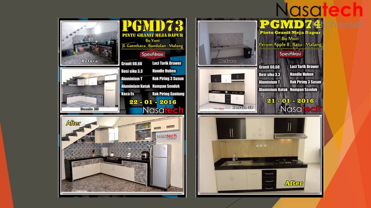 34 Kitchen Set Dapur Malang Surabaya Kitchen Set Minimalis
