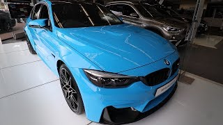 2018 BMW M3 Competition Package Quick Review Interior - Exterior