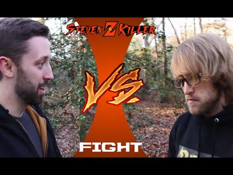 Psycho Brother Stomps Glasses [In a Nutshell] Fight (McJuggerNuggets & Corn VS BigBrudda)