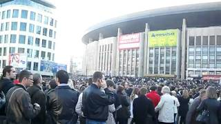 Роджер Уотерс в Москве: очередь на концерт ROGER WATERS
