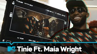 Tinie Ft. Maia Wright 'Love Me Like This' Behind The Scenes   MTV Music