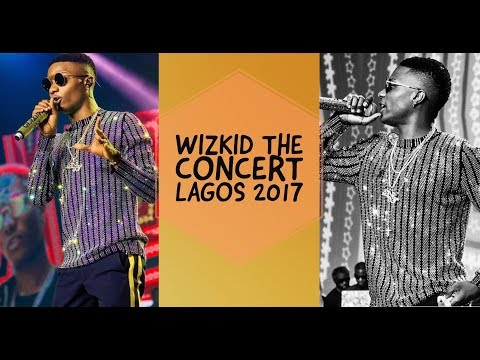 WIZKID THE CONCERT FULL VIDEO, LAGOS 2017 | HALIMA KASUMU