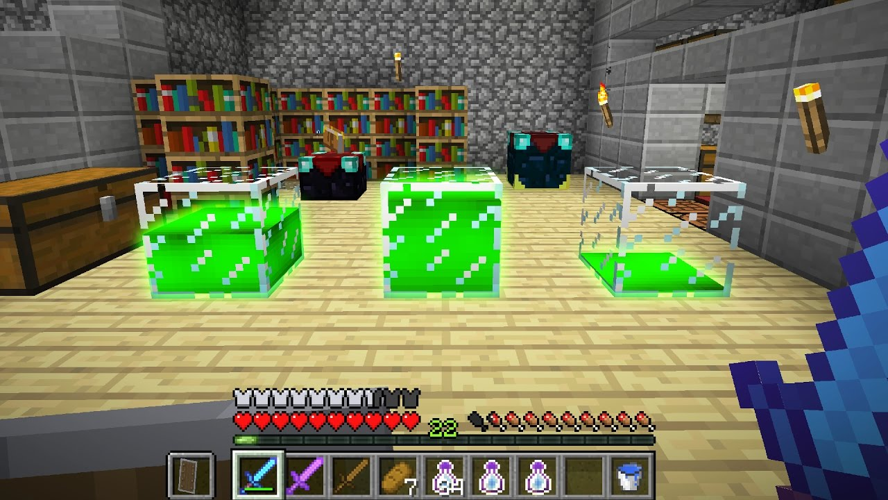 STORE Your Minecraft EXPERIENCE & LEVELS! TTB #8